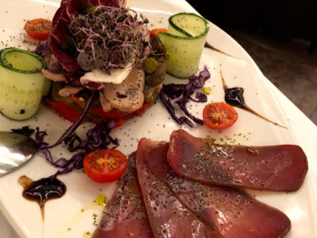 Gastronomía Restaurante Mediterráneo