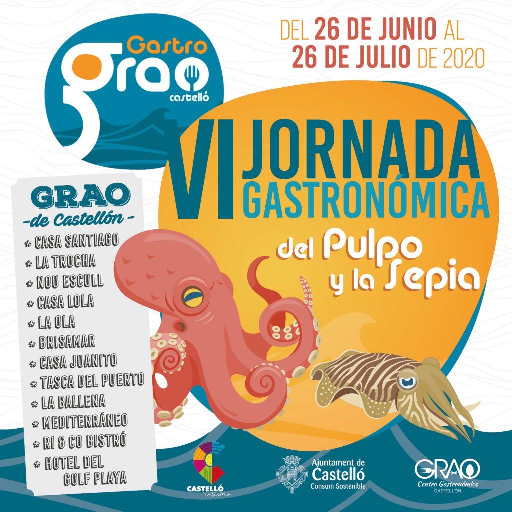 VI Jornada Gastronómica del Pulpo y la Sepia