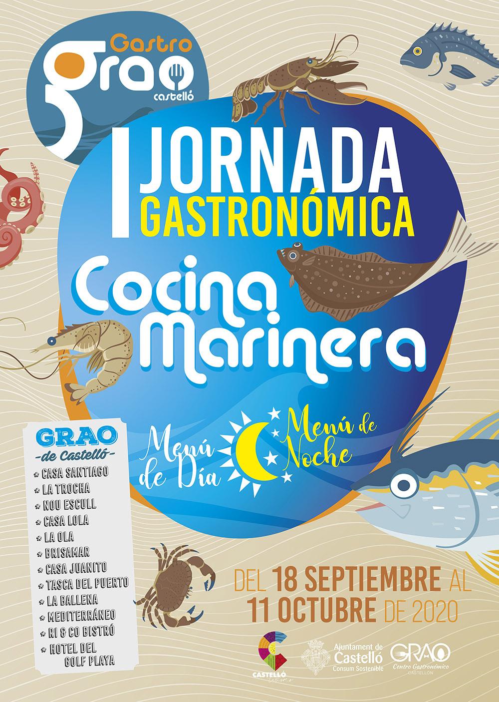 I Jornada gastronómica de Cocina Marinera