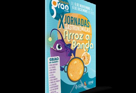 Folleto X jornadas Gastronómicas Arroz a Banda